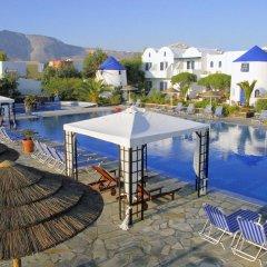 Отель Mediterranean Beach Palace Hotel Греция, Остров Санторини - отзывы, цены и фото номеров - забронировать отель Mediterranean Beach Palace Hotel онлайн бассейн