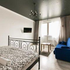 Гостиница MaxRealty24 LOFT Putilkovo комната для гостей фото 4