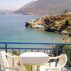 Отель Sofia Mythos Beach Aparthotel Греция, Милопотамос - 1 отзыв об отеле, цены и фото номеров - забронировать отель Sofia Mythos Beach Aparthotel онлайн балкон