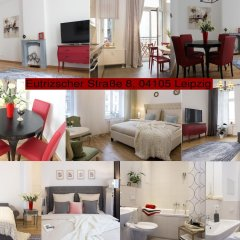Апартаменты Leon Suite Apartments гостиничный бар