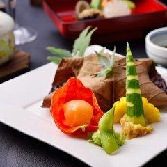 Отель Kokonoe Yuyutei Япония, Минамиогуни - отзывы, цены и фото номеров - забронировать отель Kokonoe Yuyutei онлайн питание фото 3