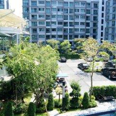 Отель Dusit Grand Park By Lurii Паттайя парковка