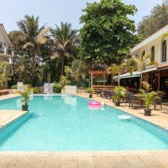 Отель Kyriad Prestige Calangute Goa Индия, Гоа - отзывы, цены и фото номеров - забронировать отель Kyriad Prestige Calangute Goa онлайн бассейн