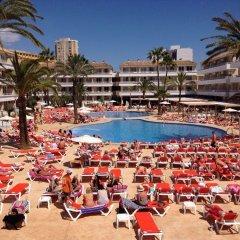 Апартаменты BH Mallorca Apartments - Adults Only фитнесс-зал