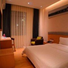 Отель 7 Days Inn Shenzhen Xi Li Subway Station Branch Шэньчжэнь комната для гостей фото 2