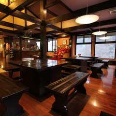 Отель Senomotokan Yumerindo Минамиогуни гостиничный бар