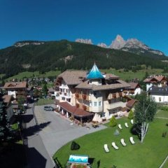 Hotel Sas Morin Долина Валь-ди-Фасса балкон