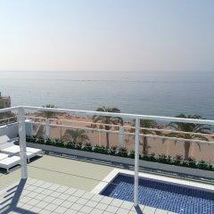 Отель Rosamar Maritim Испания, Льорет-де-Мар - 1 отзыв об отеле, цены и фото номеров - забронировать отель Rosamar Maritim онлайн пляж фото 2