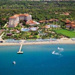 Bellis Deluxe Hotel Турция, Белек - 10 отзывов об отеле, цены и фото номеров - забронировать отель Bellis Deluxe Hotel онлайн пляж фото 2