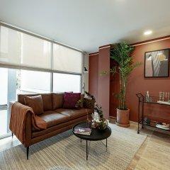 Апартаменты Delightful Studio in Hipodromo Мехико комната для гостей фото 3