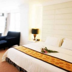 Отель Zhongshan Jinsha Business Hotel Китай, Чжуншань - отзывы, цены и фото номеров - забронировать отель Zhongshan Jinsha Business Hotel онлайн комната для гостей фото 3