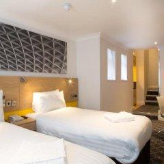 Отель Comfort Inn & Suites Kings Cross Лондон комната для гостей фото 3