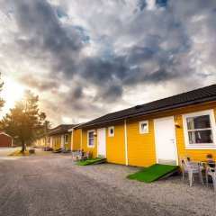 Отель Bergen Camping Park Норвегия, Берген - отзывы, цены и фото номеров - забронировать отель Bergen Camping Park онлайн вид на фасад