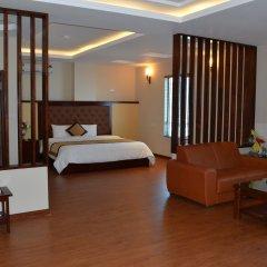Kenny Ha Long Hotel комната для гостей