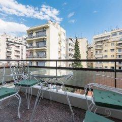 Отель Urban Central Living Thessaloniki Греция, Салоники - отзывы, цены и фото номеров - забронировать отель Urban Central Living Thessaloniki онлайн балкон