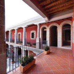Отель de Cortés Мексика, Уаска-де-Окампо - отзывы, цены и фото номеров - забронировать отель de Cortés онлайн балкон