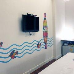 Отель Baan Saladaeng Boutique Guesthouse Бангкок удобства в номере