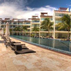 The Elements Oceanfront & Beachside Condo Hotel Плая-дель-Кармен бассейн фото 3