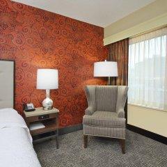 Отель Hampton Inn & Suites Columbus - Downtown США, Колумбус - отзывы, цены и фото номеров - забронировать отель Hampton Inn & Suites Columbus - Downtown онлайн комната для гостей фото 3