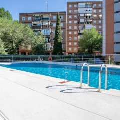 Отель Sercotel Madrid Aeropuerto Мадрид бассейн фото 2