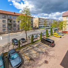 Отель Simple Plus Литва, Вильнюс - отзывы, цены и фото номеров - забронировать отель Simple Plus онлайн балкон