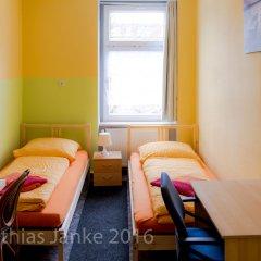 Гостевой Дом Pension Leipzig Georgplatz комната для гостей фото 4