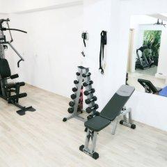 Отель Asion Lithos фитнесс-зал фото 4
