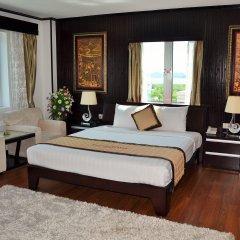 Muong Thanh Three Star Hotel Халонг комната для гостей