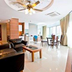 Отель Royal Beach View Suites Паттайя комната для гостей фото 5