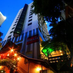Отель Pinnacle Lumpinee Park Бангкок вид на фасад