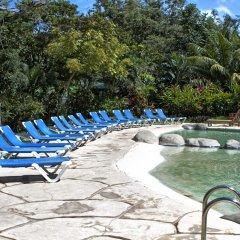 Отель Cañon de la Vieja Lodge Коста-Рика, Sardinal - отзывы, цены и фото номеров - забронировать отель Cañon de la Vieja Lodge онлайн бассейн фото 2