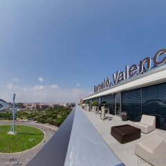 Отель Barceló Valencia Испания, Валенсия - 1 отзыв об отеле, цены и фото номеров - забронировать отель Barceló Valencia онлайн бассейн фото 3
