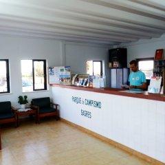 Отель Parque de Campismo Orbitur Sagres интерьер отеля