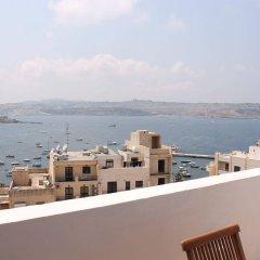 Отель Seashells Penthouse Bugibba балкон