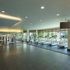 Отель Hilton Sanya Yalong Bay Resort & Spa фитнесс-зал