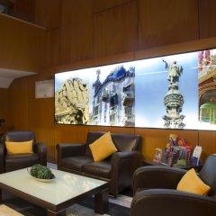 Отель Bcn Urbany Hotels Gran Ronda Барселона гостиничный бар