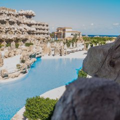 Отель Caves Beach Resort Hurghada - Adults Only - All Inclusive бассейн фото 3