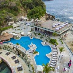 Отель Las Brisas Acapulco пляж