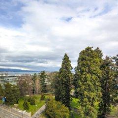 Отель Eden Hotel Швейцария, Женева - отзывы, цены и фото номеров - забронировать отель Eden Hotel онлайн балкон