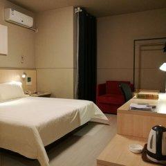 Отель Jinjiang Inn Xi'an Jianguomen Китай, Сиань - отзывы, цены и фото номеров - забронировать отель Jinjiang Inn Xi'an Jianguomen онлайн комната для гостей фото 4