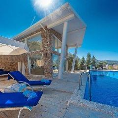 Likya Pavilion Hotel Турция, Калкан - отзывы, цены и фото номеров - забронировать отель Likya Pavilion Hotel онлайн бассейн