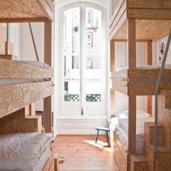 The Independente Hostel & Suites Лиссабон комната для гостей фото 2