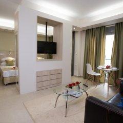 Апартаменты Polis Apartments комната для гостей фото 3