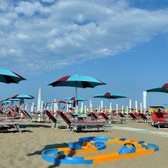 Отель Abamar Италия, Римини - отзывы, цены и фото номеров - забронировать отель Abamar онлайн пляж фото 2