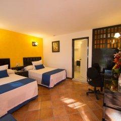 Отель Comfort Inn Palenque Maya Tucán комната для гостей фото 5