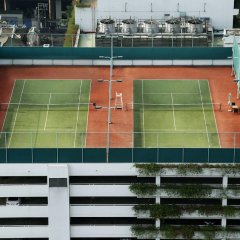 Отель Shangri-la Бангкок спортивное сооружение