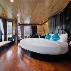 Отель Halong Serenity Cruise Вьетнам, Халонг - отзывы, цены и фото номеров - забронировать отель Halong Serenity Cruise онлайн комната для гостей фото 3