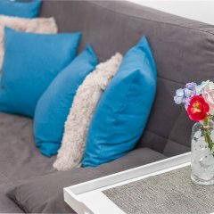 Отель Little Home-Blue Sky 63 Польша, Варшава - отзывы, цены и фото номеров - забронировать отель Little Home-Blue Sky 63 онлайн комната для гостей фото 3