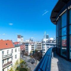 Отель Scandic Berlin Kurfürstendamm Германия, Берлин - 4 отзыва об отеле, цены и фото номеров - забронировать отель Scandic Berlin Kurfürstendamm онлайн балкон