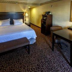 Отель Hampton Inn & Suites Staten Island США, Нью-Йорк - отзывы, цены и фото номеров - забронировать отель Hampton Inn & Suites Staten Island онлайн комната для гостей фото 4